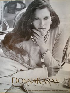 Donna Karan Fall 1987-when I fell in love with the line and Rosemary McGrotha