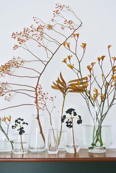 Fall Decor: Understated Ways To Decorate With Florals In The Fall /// Roundup by Marlene Sauer for Design Fixation fall decor flowers floral arrangements 10133167898847354 Deco Floral, Arte Floral, Floral Design, Natural Fall Decor, Fall Arrangements, Modern Floral Arrangements, Fall Bouquets, Flower Bouquets, Bridal Bouquets