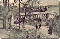 Gumussuyu'ndan Dolmabahce'ye inen yol 1930'lar