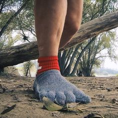 Swiss Barefoot Company's glove-like socks are made from material stronger than…