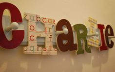 Childs Coat Rack  Personalized by HandmadeInNapa on Etsy, $50.00