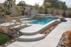 this romanesque pool never goes out of style