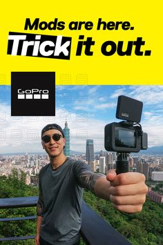 Get your mod on. See how the all-new # GoPro Black mods turn your camera into a creative powerhouse. Photography Camera, Outdoor Photography, Photography Portfolio, Photography Tips, Divorce, Gopro Drone, Drones, Newest Gopro, Yearbook Covers