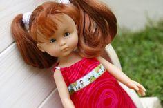 Robe chaperon rouge pour poupée Chéries
