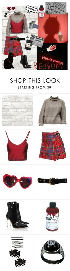 """""""i wanna smoke"""" by mr-burns ❤ liked on Polyvore featuring Boutique de la Femme, Vivienne Westwood, Moschino, ESCADA, Graftobian, Dorothy Perkins and Moleskine"""