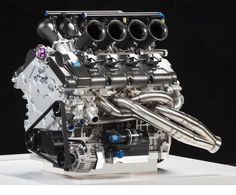 The 650 HP Volvo Polestar Racing V8 Supercars engine