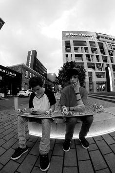 skateboarding Black and White Photography, Skater
