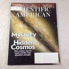 Scientific American Magazine Jul 2015 Mystery Hidden Cosmos Dark Matter Wolf Dog  | eBay