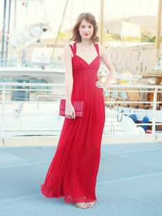66e809227466 Sheath Column Straps Chiffon Floor-length Pleats Prom Dresses Prom Dresses  Uk