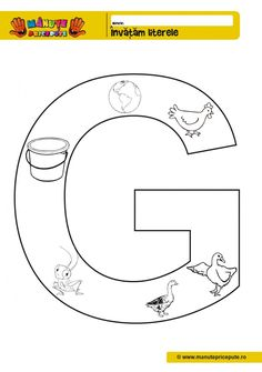 Comunicare in limba romana Archives - Pagina 3 din 5 - Manute Pricepute Letters And Numbers, Kindergarten, Preschool, Symbols, Crafts, Montessori, Maya, Twins, Teacher