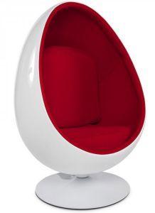 Ce Fauteuil Visiteur Design En Forme D œuf Conviendra Parfaitement Pour Offrir A Vos Visiteurs Une Assise Ultra Confortable Et Reconf Fauteuil Oeuf Fauteuil Et Design