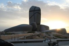 The King Abdulaziz Center for World Culture (Ithra) Courtesy Snøhetta
