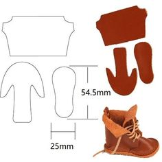 Online Shop Doll Dolly Shoes Make Cutting Die Leather Punch Cutter Mold Tool DIY Shaped Leathercraft for Wallet Shoes Bag Custom Design Barbie Shoes, Doll Shoes, Barbie Clothes, Doll Shoe Patterns, Sewing Patterns, Sewing Dolls, How To Make Shoes, Drops Design, Custom Bags