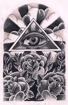 Eye #tattoo #tattoossketch #sketch