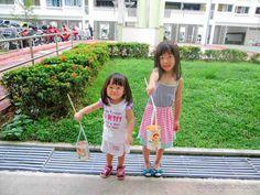 A Happy Mum | Singapore Parenting Blog: Creativity 521 #52 - DIY Tin Can Lanterns