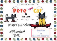 Classroom Fun: Pete the Cat freebies