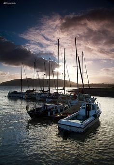 Porlock Weir. Photo by Ben Jones.