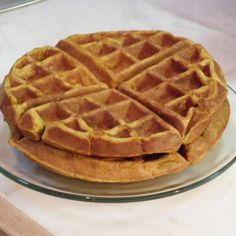 Spiced Pumpkin Waffles - used wheat flour needs a little something more maybe only half wheat next time