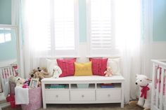 Turn a Media Unit into a Child's Window Seat | DIYNetwork.com