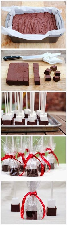 #Recipes : Hot Chocolate Blocks