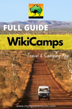 This articles takes you through the step-by-step process of using the WikiCamps App. A smart phone application for camping, road tripping caravanning, RVing and travelling. Getting set-up, plus all of the tips and tricks to get the most out of it. #wikicamps #travel #apps #australia #camping #rving New Zealand Itinerary, New Zealand Travel, Time In Australia, Australia Travel, Travel Info, Travel Tips, Travel Ideas, Travel Planner, Canada Travel