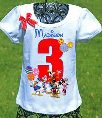 Mickey Mouse Clubhouse Birthday Shirt - 2T / Short Sleeve