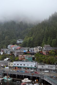 Ketchikan, Alaska: visit soon, before they film a teenage vampire movie here.I want to go see this place one day. Please check out my website Thanks.  www.photopix.co.nz