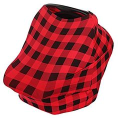 Amazon.com: Baby Car Seat Canopy, Privacy Nursing Breastfeeding Cover for Boys and Girls (Plaid), Stretchy Poncho, Infinity Scarf, Shawl, Shopping Cart, Stroller, Carseat Covers by KiddyStar: Baby