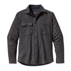 Patagonia Men's Long-Sleeved Felted Shirt--their stuff just works and lasts forever.