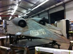 WW2 German jet relic.