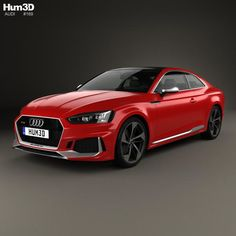 Audi RS5 Coupe 2017 3d model from Hum3d.com.