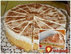 Švédska jablková torta. Výborný a naozaj jedinečný recept z jabĺčok. Czech Recipes, Ethnic Recipes, Apple Pie, Tiramisu, Valspar, Cheesecake, Yummy Food, Food And Drink, Cookies