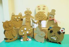 Craftboard Crafts: Having conducted workshops on Recycled Cardboard A...