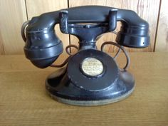 This is my 1929 General Electric phone I just bought. I figure it must be from a motel because there is no dial. Vintage Telephone, General Electric, Motel, Landline Phone, Phones, Memories, Antiques, Stuff To Buy, Memoirs