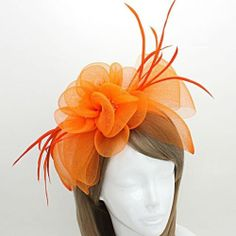 Kentucky Derby Fashion Hair Headband Flowers Bow Design Fascinator Detachable | eBay $23