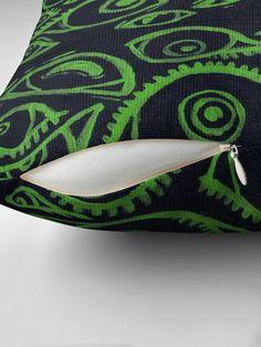Spooky Eyes, Sunglasses Case, Original Art, Lime, Cushions, Throw Pillows, The Originals, Green, Prints