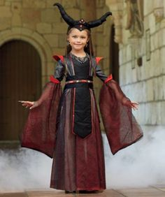 Dragon Princess Costume for Girls Scary Girl Costumes 1b63bc174238a