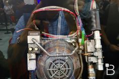 Ghostbusters 2016 proton pack - close up reference for cosplay