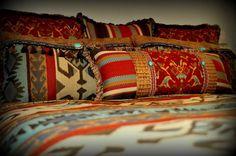 Native American inspired bedding