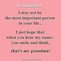 When I think of my grandma. When I think of my grandma. Mom Quotes, Family Quotes, Great Quotes, Life Quotes, Inspirational Quotes, Grandkids Quotes, Quotes About Grandchildren, Grandmother Quotes, Grandma And Grandpa