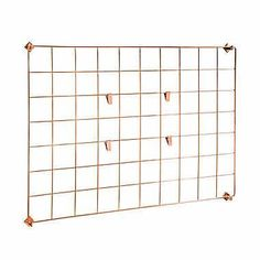 Honey-Can-Do Copper Wall Grid