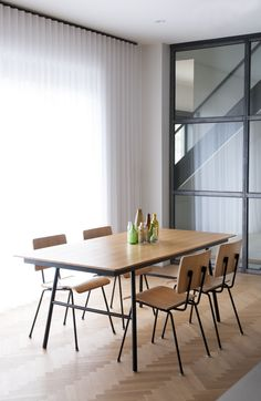The NEW Gus Modern School Table available at Pigment #gusmodern