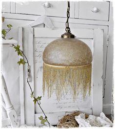 Traum einer Lampe aus Frankreich von ShabbyMaison auf DaWanda.com