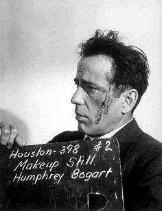 Humphrey Bogart makeup still #2