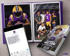 College Football Recruiting, Sports Graphic Design, Sports Graphics, Lsu, High School, Design Inspiration, Branding, Scouting, Archive