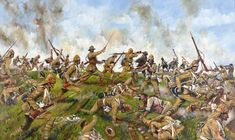 Spion Kop - South Africa, January 1900 by Jason Askew. - Cranston Fine Arts Aviation, Military and Naval Art Military Art, Military History, Military Uniforms, Zulu, Age Of Empires, War Film, King And Country, Film Inspiration, Colonial