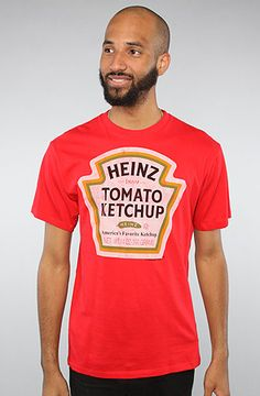 $10 Mighty Fine Heinz Ketchup Label Tee - Use repcode SMARTCANUCKS for 10% off on #PLNDR - http://www.lovekarmaloop.com