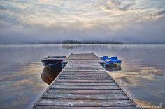 #ChickPicotheDay! (Day 2,125) #Paddle into the #mist. #meditate #Yoga #serenity #peaceful #calm #Zen #EarlyMorningMist #CottageLife #SeeYouVerySoon #BrantfordPhotographer #CanonGirl #KayakCameraGirl #TGIF