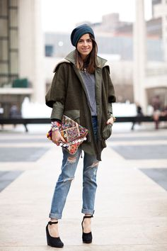 Street Style Fall 2012 - New York Fashion Week Street Style - Leandra Medine