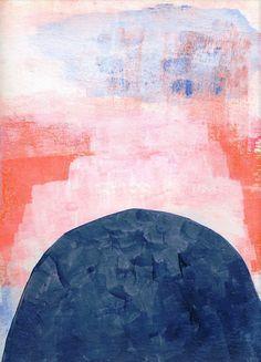 The Climb by Ashley Goldberg #abstract #pastel #art #decor